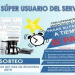 OPERADORES DE SERVICIOS DE LA SIERRA LANZA CAMPAÑA «SUPER USUARIO DEL SERVICIO»
